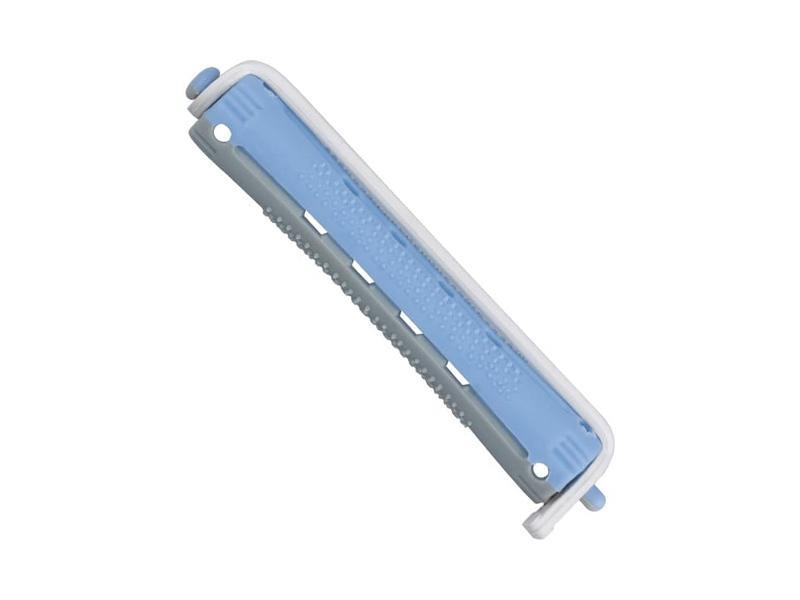 Bigudí 7mm. Azul-gris 12 uds. - 00905