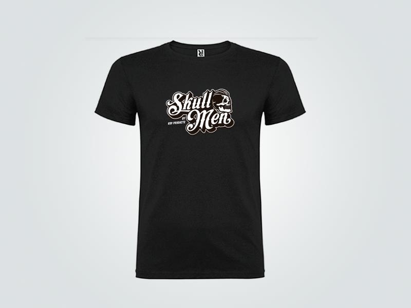 Camiseta Negra Skull Men Talla L