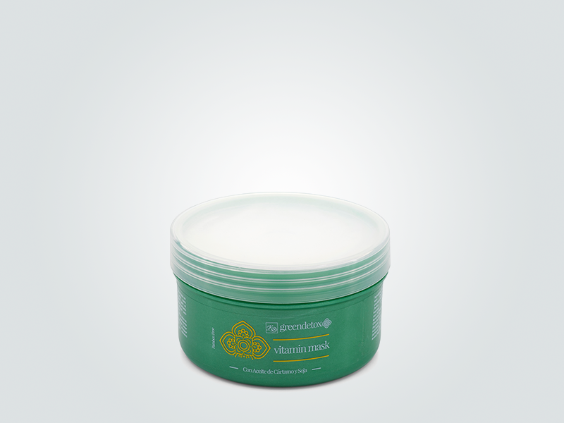 Greendetox Mascarilla Vitaminas 250ml